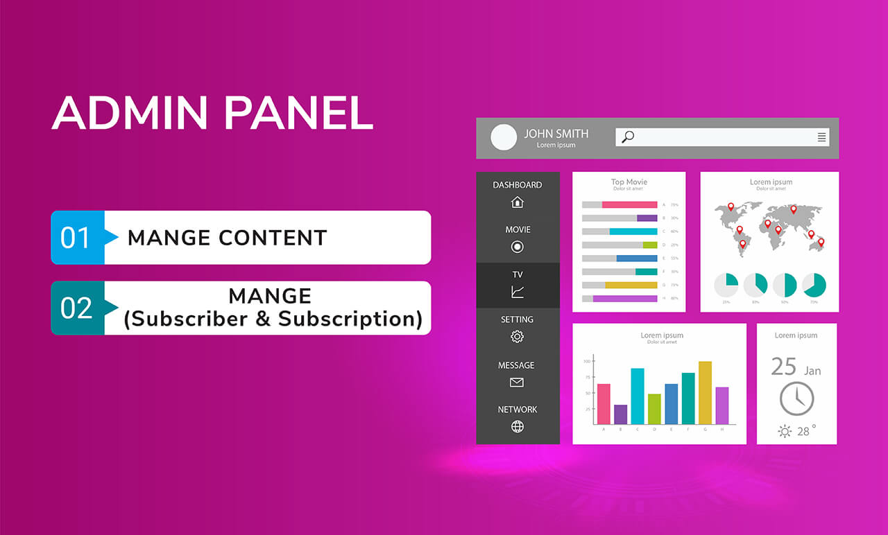 OVOO - Live TV & Movie Portal CMS with Membership System - 11